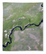 Alum Creek II Fleece Blanket