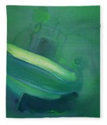 Alvor Working Boat  Fleece Blanket