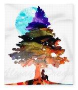 Always Dream - Inspirational Art By Sharon Cummings Fleece Blanket