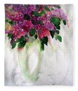 Alyvos - Lilacs Fleece Blanket