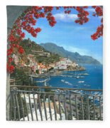 Amalfi Vista Fleece Blanket