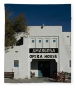 Amargosa Opera House Death Valley Img 0021 Fleece Blanket