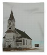 Amazing Grace In North Dakota Fleece Blanket