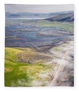 Amazing Iceland Landscape Fleece Blanket