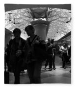Amazing Penn Station - Otherworldly View Fleece Blanket