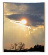 Amazing Sunset Fleece Blanket