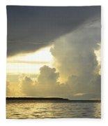 Amazon River Landscape Fleece Blanket