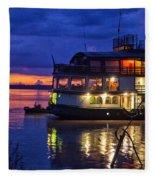 Amazon Sunset Fleece Blanket