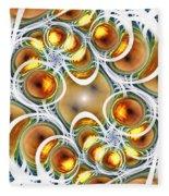 Amber Clusters Fleece Blanket