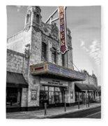 Ambler Theater In Ambler Pennsylvania Fleece Blanket