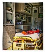 Ambulance - Trip Of A Lifetime  Fleece Blanket