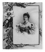 Amelie Of Portugal (1865-1951) Fleece Blanket