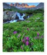 American  Basin Waterfall Fleece Blanket