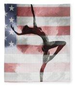 American Beauty Fleece Blanket