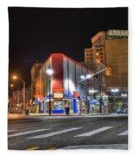 American Coney Island Detroit Mi Fleece Blanket