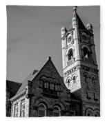American Courthouse Fleece Blanket