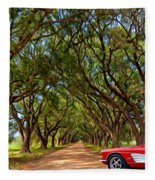 American Dream Drive 2 Fleece Blanket