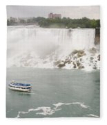 American Falls Fleece Blanket