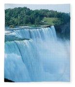 American Falls Niagara Falls Ny Usa Fleece Blanket