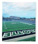 American Football Stadium Fleece Blanket
