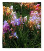 American Giverny Fleece Blanket