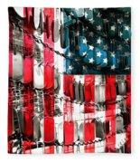 American Heroes Fleece Blanket