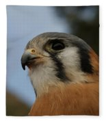 American Kestrel 2 Fleece Blanket