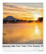American Lake 2010 Fleece Blanket