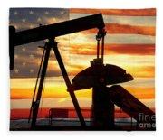American Oil  Fleece Blanket