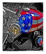 American Ride Fleece Blanket