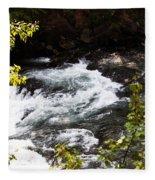 American River's Levels Fleece Blanket