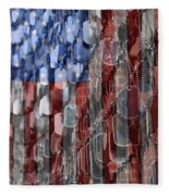 American Sacrifice Fleece Blanket