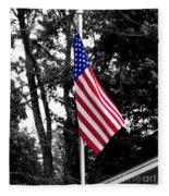 American Spirit Fleece Blanket