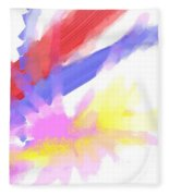 American Sunrise Fleece Blanket