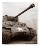American Tank Fleece Blanket