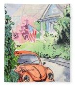 American Town Fleece Blanket