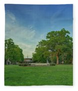 American University Quad Fleece Blanket