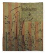 American Vintage Revolver Fleece Blanket