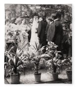 American Wedding, 1900 Fleece Blanket