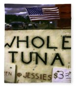 American Whole Tuna Fleece Blanket