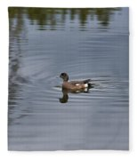 American Wigeon Fleece Blanket