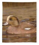 American Wigeon Fleece Blanket
