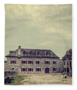 Fort Ticonderoga Fleece Blanket