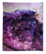 Amethyst  Fleece Blanket