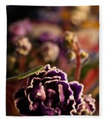 Amethyst Opening Fleece Blanket