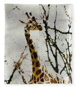 Amid The Trees Fleece Blanket