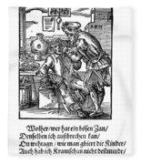 Amman: Dentist, 1568 Fleece Blanket