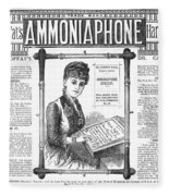 Ammoniaphone, 1885 Fleece Blanket