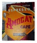 Amocat Cafe Fleece Blanket