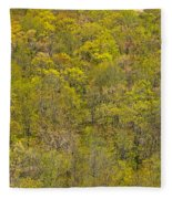 Among The Trees Fleece Blanket